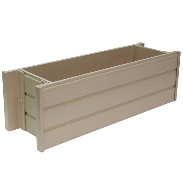 William Composite Planter Box by Millwood Pines