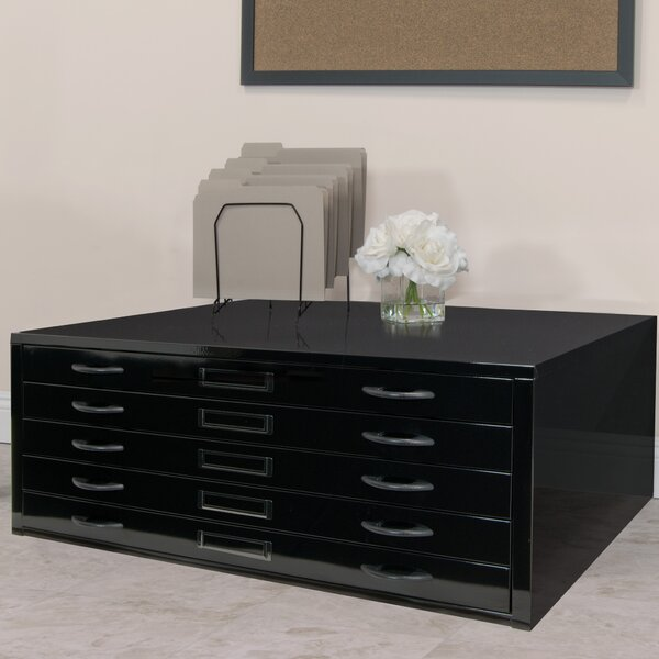 Flat File Filing Cabinet by Studio Designs
