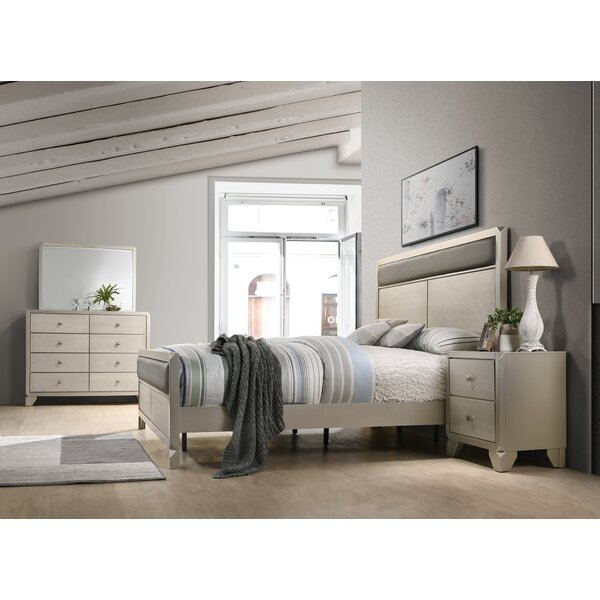 Yates Panel 4 Piece Bedroom Set by Rosdorf Park