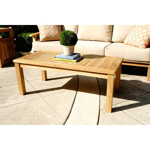 Galvan Coffee Table by Rosecliff Heights