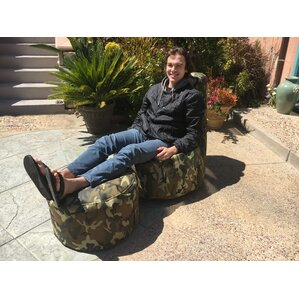 Aurore Large Durable Camo Bean Bag Chair for Freeport Park by Freeport Park