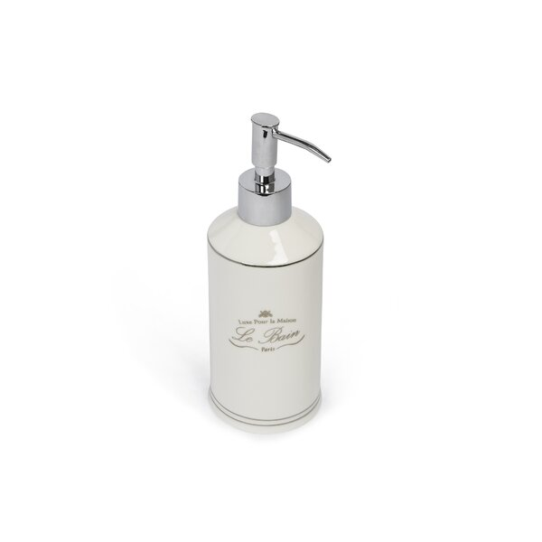 Noeline Paris Connection Le Bain Soap & Lotion Dispenser by Lark Manor