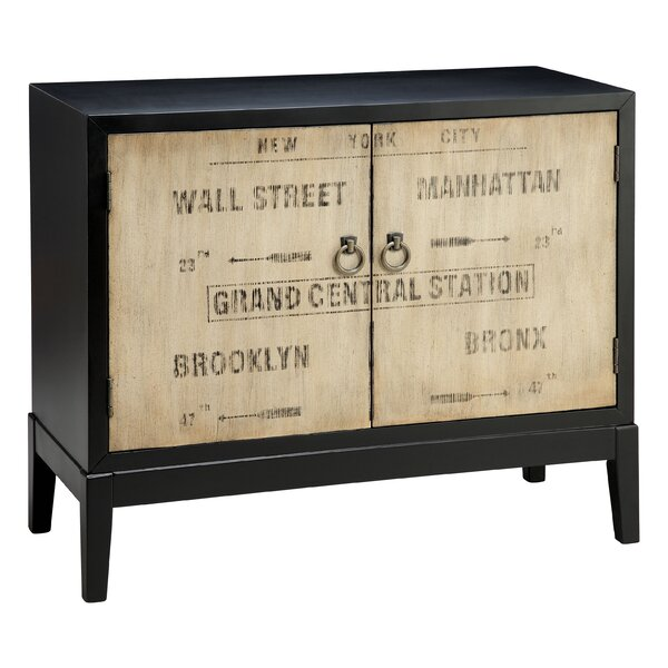 Dominick Vintage Transit Inspired 2 Door Accent Cabinet by Williston Forge Williston Forge