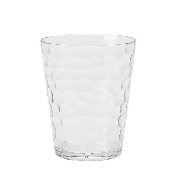 Switzer Rocks 16 oz. Plastic Cocktail Glass (Set of 6) by Highland Dunes