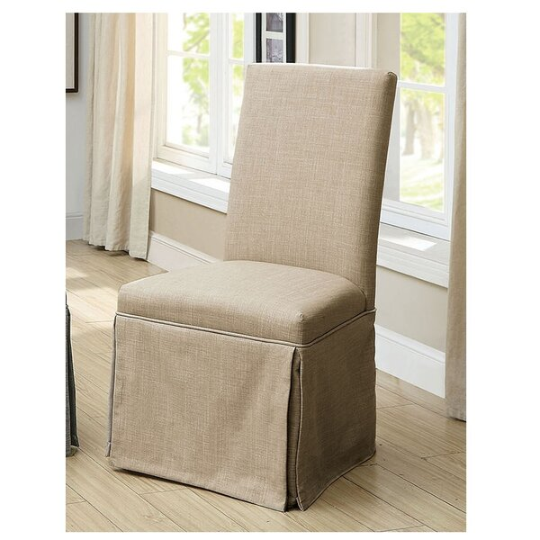 Cohen Upholstered Side Chair by Rosecliff Heights