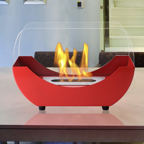 Liberty Ventless Bio-Ethanol Tabletop Fireplace by Ignis Products