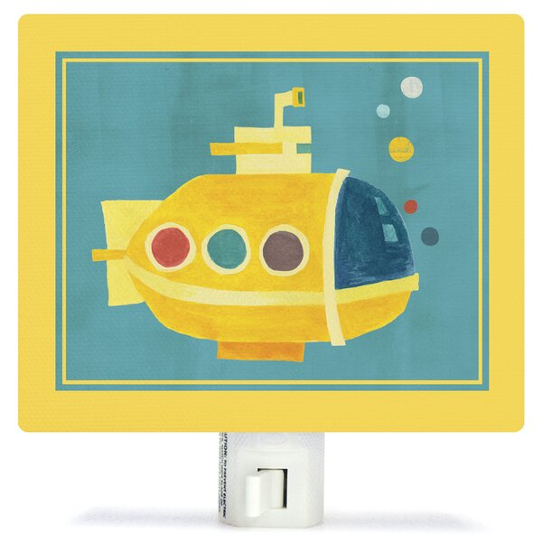 Transportation Submarine by Irene Chan Canvas Night Light by Oopsy Daisy