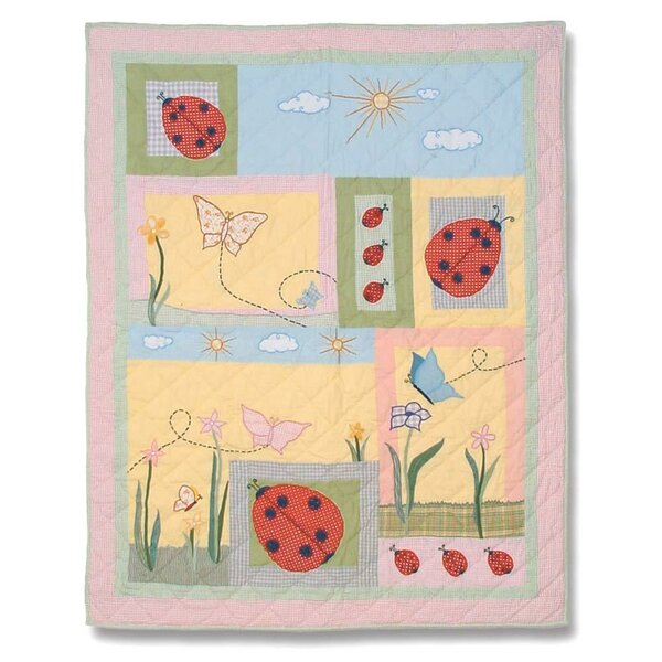 Ladybug Crib Quilt by Patch Magic