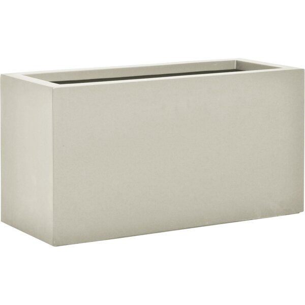 Boxtrough Stone Planter Box by JANUS et Cie