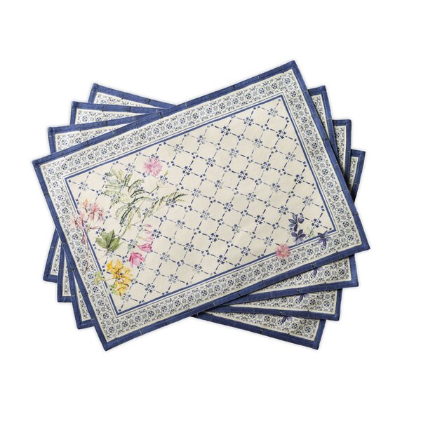 Faience Placemats (Set of 4) by Maison d' Hermine