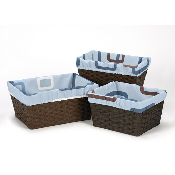 Geo Basket Liners by Sweet Jojo Designs