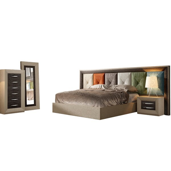 Rone Standard 5 Piece Bedroom Set By Brayden Studio by Brayden Studio Coupon