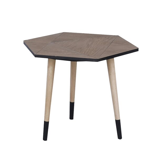 Bruner Wooden End Table by Ivy Bronx