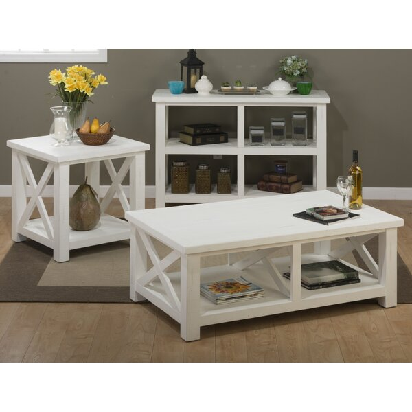 Ruffner 3 Piece Coffee Table Set By Beachcrest Home