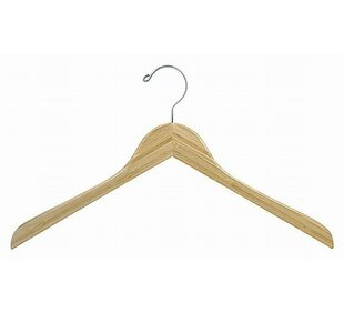Check Prices Bamboo Top Hanger (Set of 100) By Only Hangers Inc.