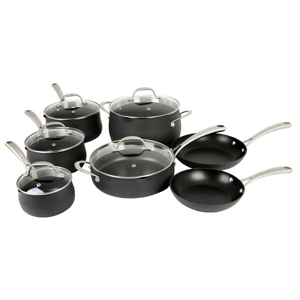 Premium 12-Piece Non-Stick Cookware Set by Oneida