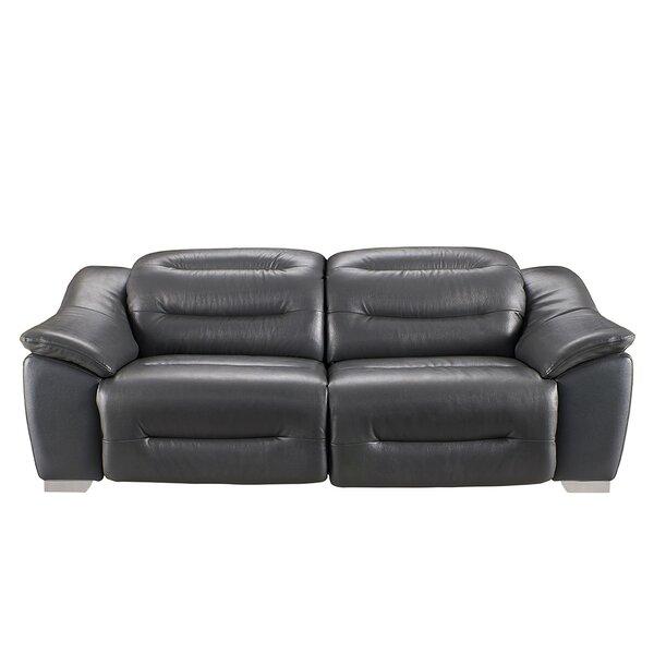 Eliseo Reclining 85-inch Pillow Top Arms Sofa by Orren Ellis Orren Ellis