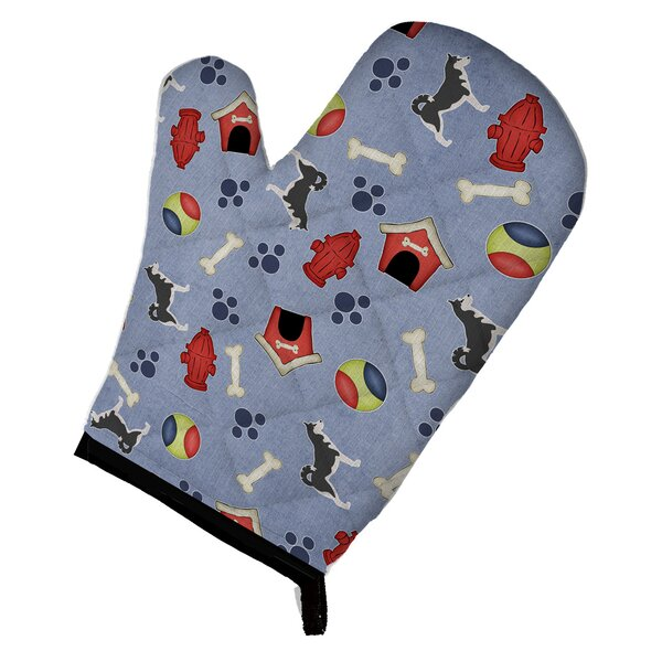 Siberian Husky Oven Mitt by East Urban Home