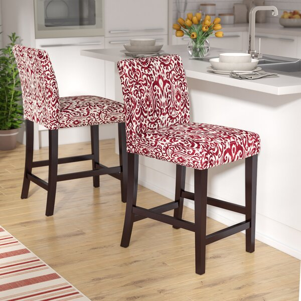 Linderman 24 Bar Stool by Three Posts