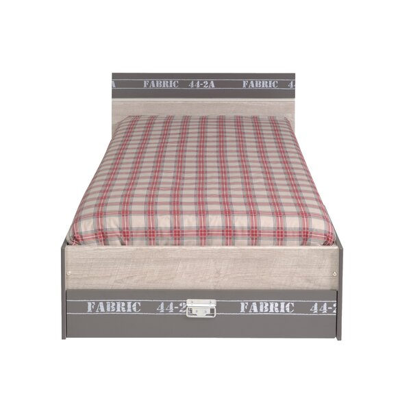 Joyce Twin Platform Bed with Drawer by Harriet Bee