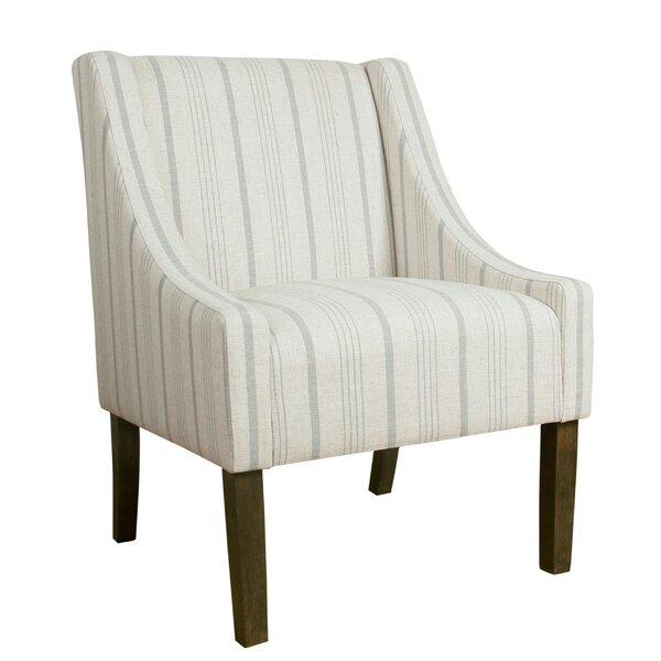 Review Desalvo Fabric Upholstered Wooden Side Chair