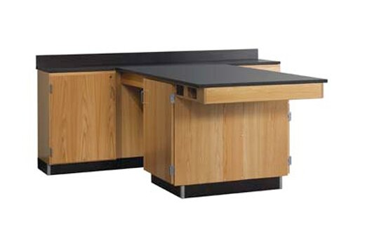 Perimeter Workstation by Diversified Woodcrafts