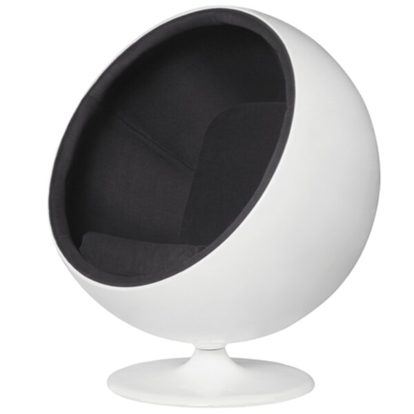 Leicester Swivel Balloon Chair by Orren Ellis Orren Ellis