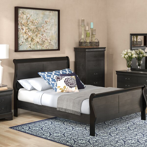 Sahil Sleigh 5 Piece Bedroom Set by Darby Home Co