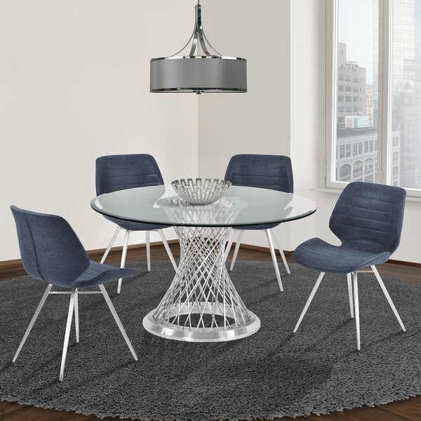 Nevil 5 Piece Dining Set by Orren Ellis