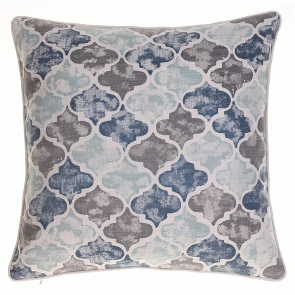 Moroccan Throw Pillow by 14 Karat Home Inc.