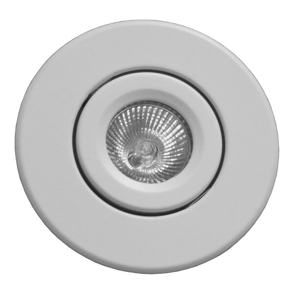 Low Voltage Gimbal Ring 4 Recessed Trim by NICOR Lighting