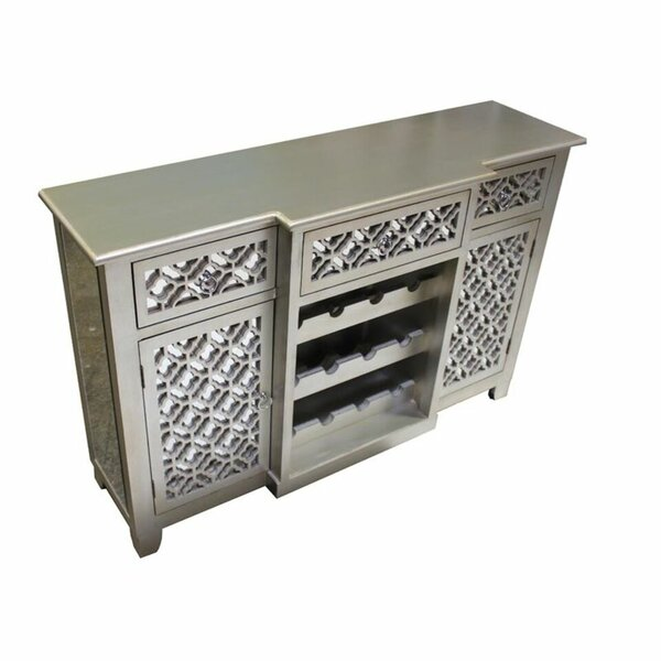 Bethany 12 Bottle Floor Wine Cabinet by Rosdorf Park