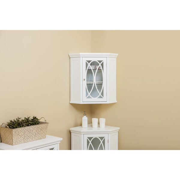 Kayla 24.75 W x 24.5 H Wall Mounted Cabinet by Alcott Hill