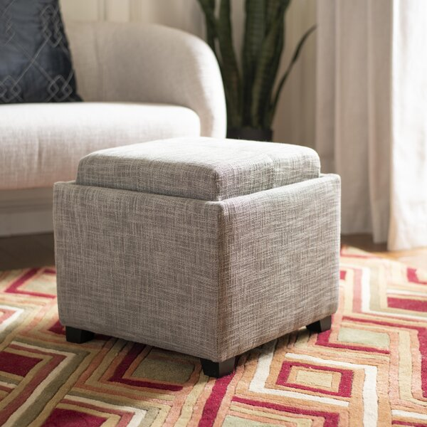 Brandon Cube Ottoman by Willa Arlo Interiors
