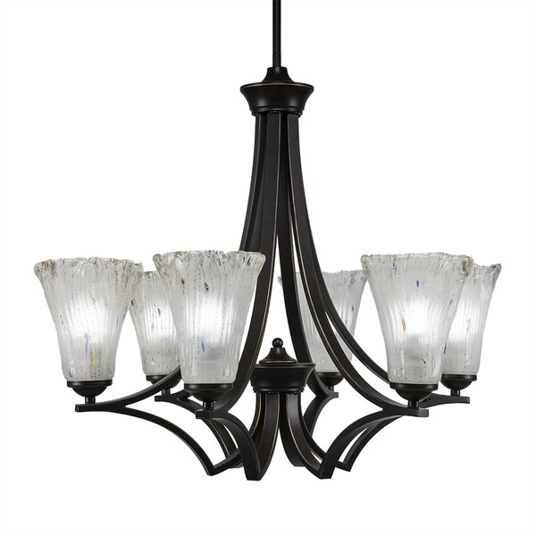 Couto 6-Light Shaded Chandelier by Red Barrel Studio