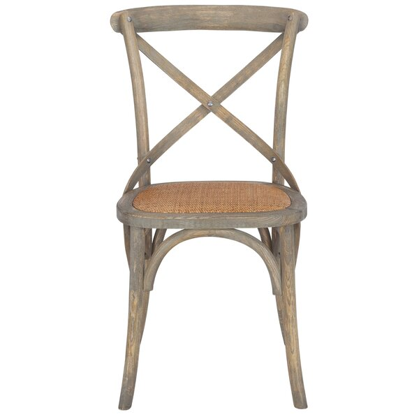 Doncaster Crossback Solid Wood Dining Chair by Gracie Oaks