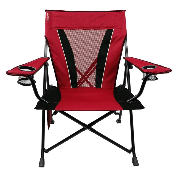 Brinton XXL Dual Lock Folding Camping Chair By Freeport Park