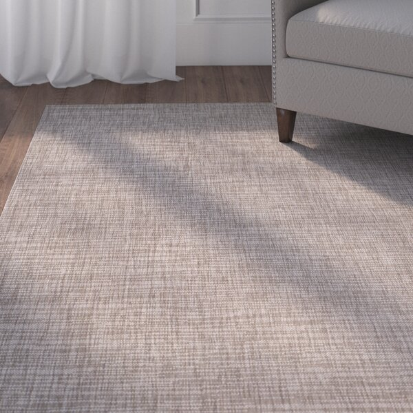 Poole Brown/Beige Indoor/Outdoor Area Rug by Charlton Home