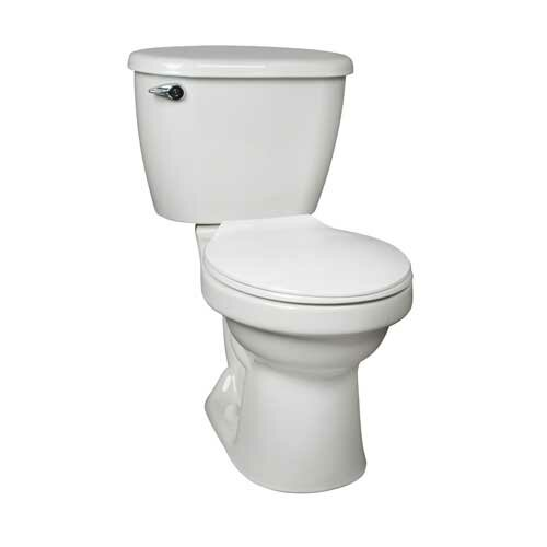 Cascade HET 1.28 GPF Round Two-Piece Toilet Tank by Mansfield Plumbing Products