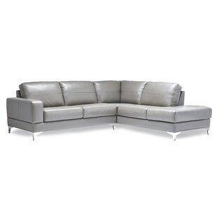 Finch Leather Sectional  by Sofas to Go