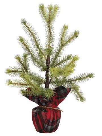 Desktop Cedar Tree in Decorative Vase by The Holiday Aisle