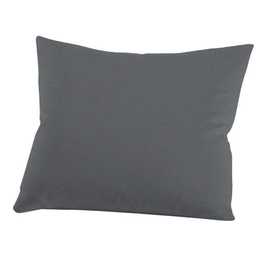 Kissenbezug Mako-Jersey Interlock schlafgut Farbe: Titan  Größe: 80 x 80 cm   Heimtextilien > Bettwäsche und Laken > Kopfkissenbezüge   schlafgut