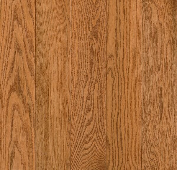 Prime Harvest 5 Solid Oak Hardwood Flooring in High Glossy Butterscotch by Armstrong Flooring