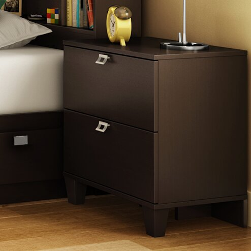 Karma 2 Drawer Nightstand by South Shore