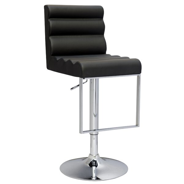 Swivel Adjustable Height Bar Stool By Wade Logan