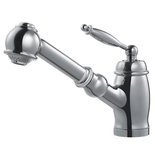 Pull Out Single Handle Kitchen Faucet by Concinnity Concinnity