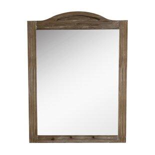 Laurel Foundry Modern Farmhouse Clemmie Solid Fir Wood Framed Wall Mirror