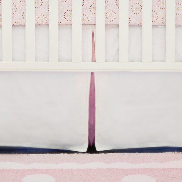 Pique Peekaboo Panels Crib Skirt by New Arrivals