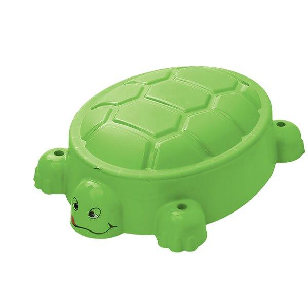 Turtle Sandpit 3.08 ft. Novelty Sandbox (Set of 2)