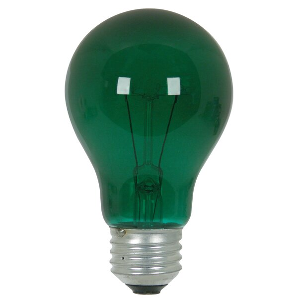25W Green 120-Volt Incandescent Light Bulb by FeitElectric